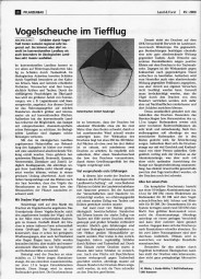 Land & Forst - Vogelscheuche im Tiefflug - von Markus Mücke