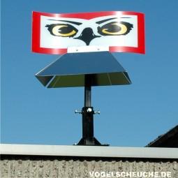 Vogelscheuchen Rotor HABICHTAUGE (Dachmontage)