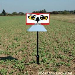 Vogelscheuchen Rotor HABICHTAUGE (Bodenmontage)