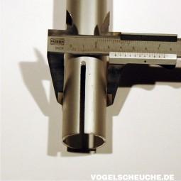 Aluminiumrohr Nr. 5 (35/31)