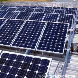 Welches System setze ich zur Taubenabwehr bei einer Photovoltaikanlage ein?