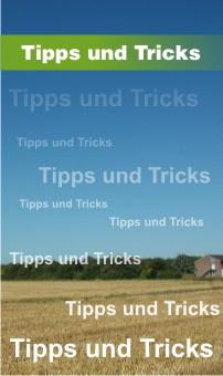 banner tipps und tricks aktiv