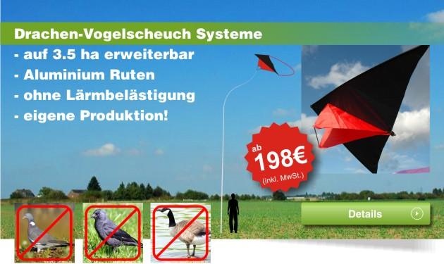 banner drachen vogelscheuch systeme aktiv