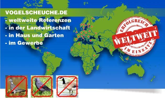 vogelabwehr weltweit